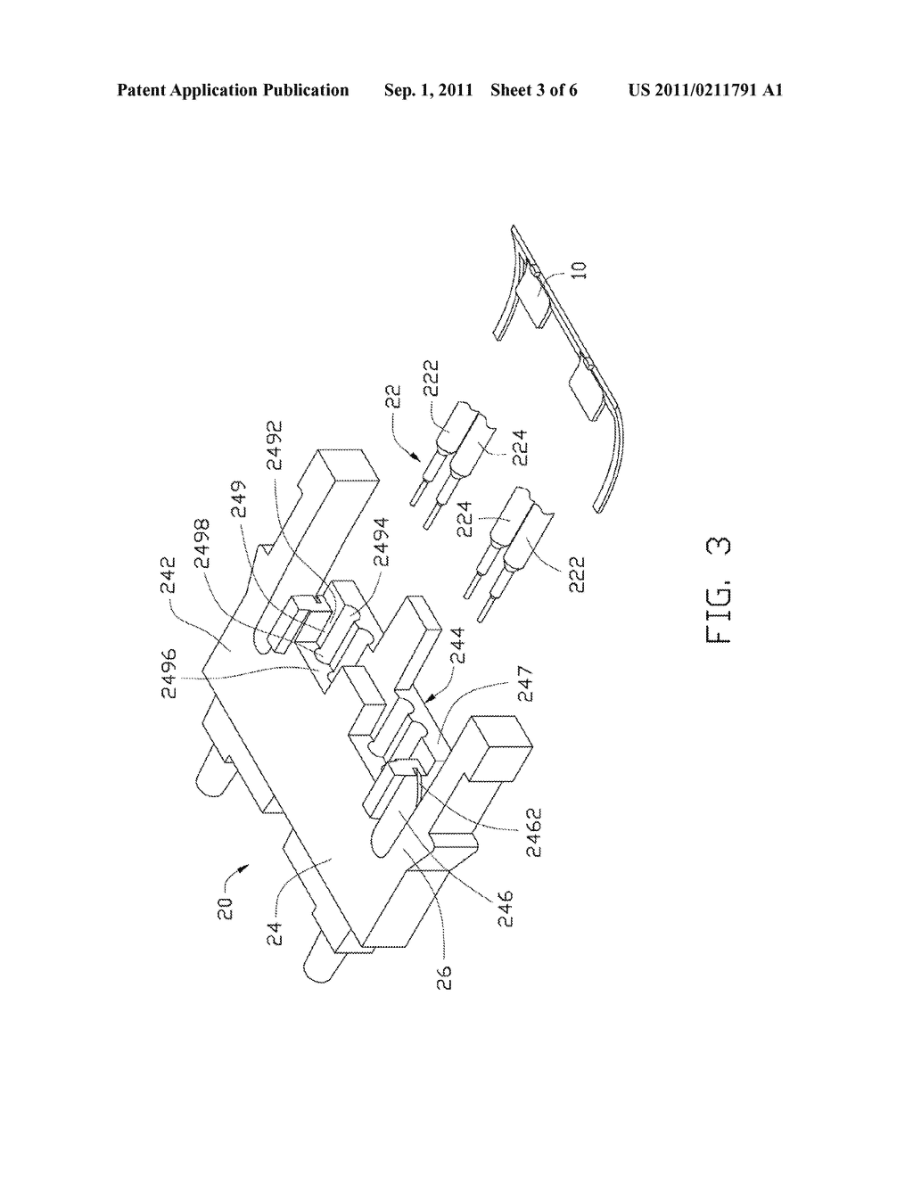 OPTICAL FIBER FIXING DEVICE AND METHOD FOR ASSEMBLING OPTICAL FIBER TO     OPTICAL CONNECTOR USING SAME - diagram, schematic, and image 04
