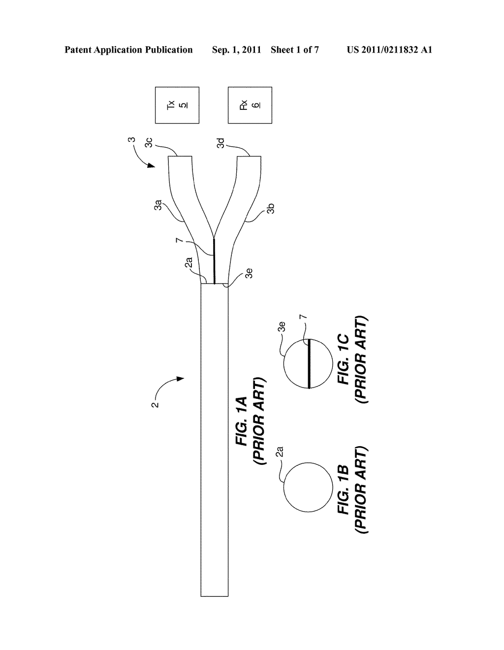 2-TO-1 OPTICAL COUPLER THAT UTILIZES D-SHAPED PLASTIC OPTICAL FIBERS     (POFs), A BI-DIRECTIONAL OPTICAL COMMUNICATIONS LINK THAT EMPLOYS THE     2-TO-1 POF OPTICAL COUPLER, AND A METHOD - diagram, schematic, and image 02