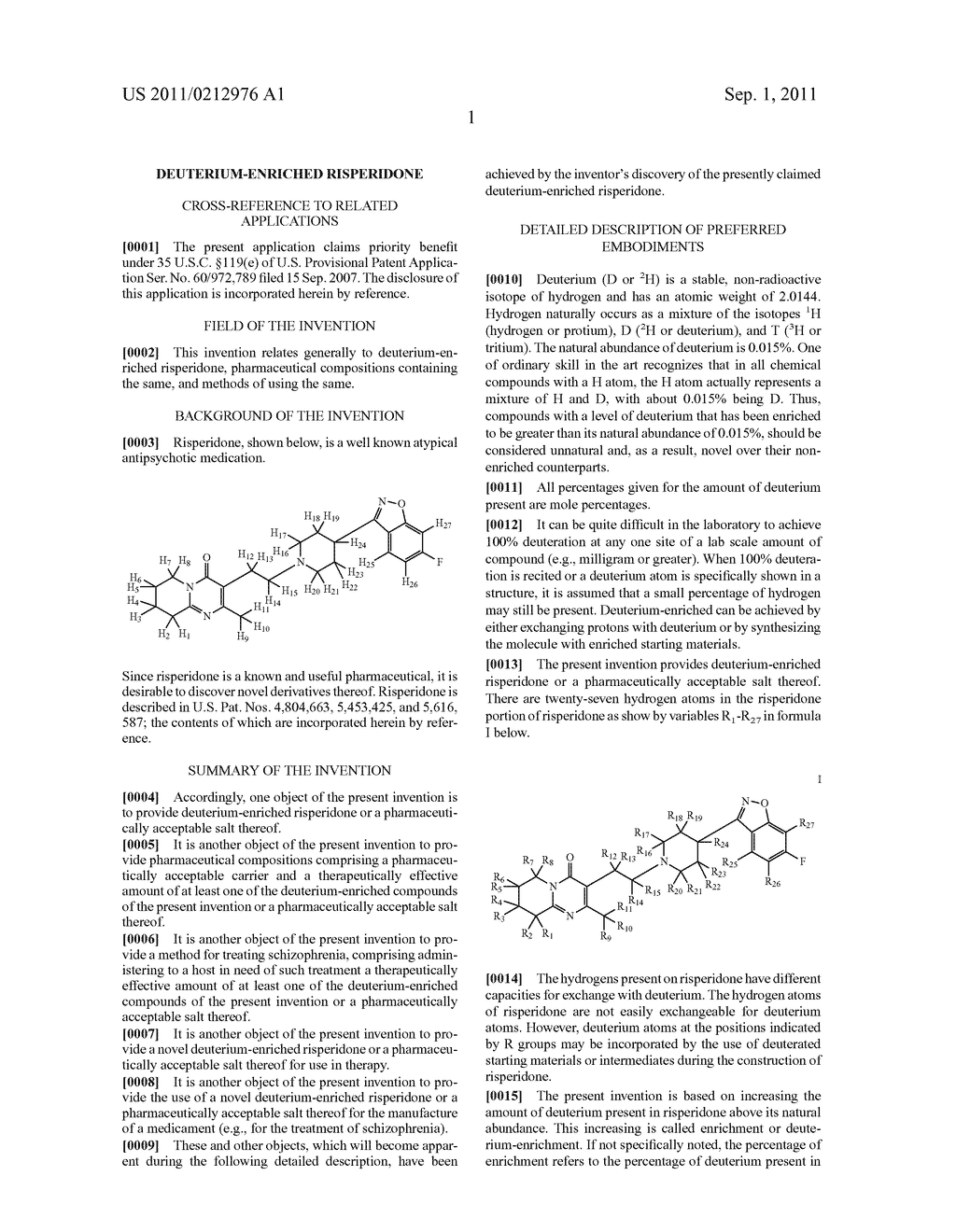 DEUTERIUM-ENRICHED RISPERIDONE - diagram, schematic, and image 02