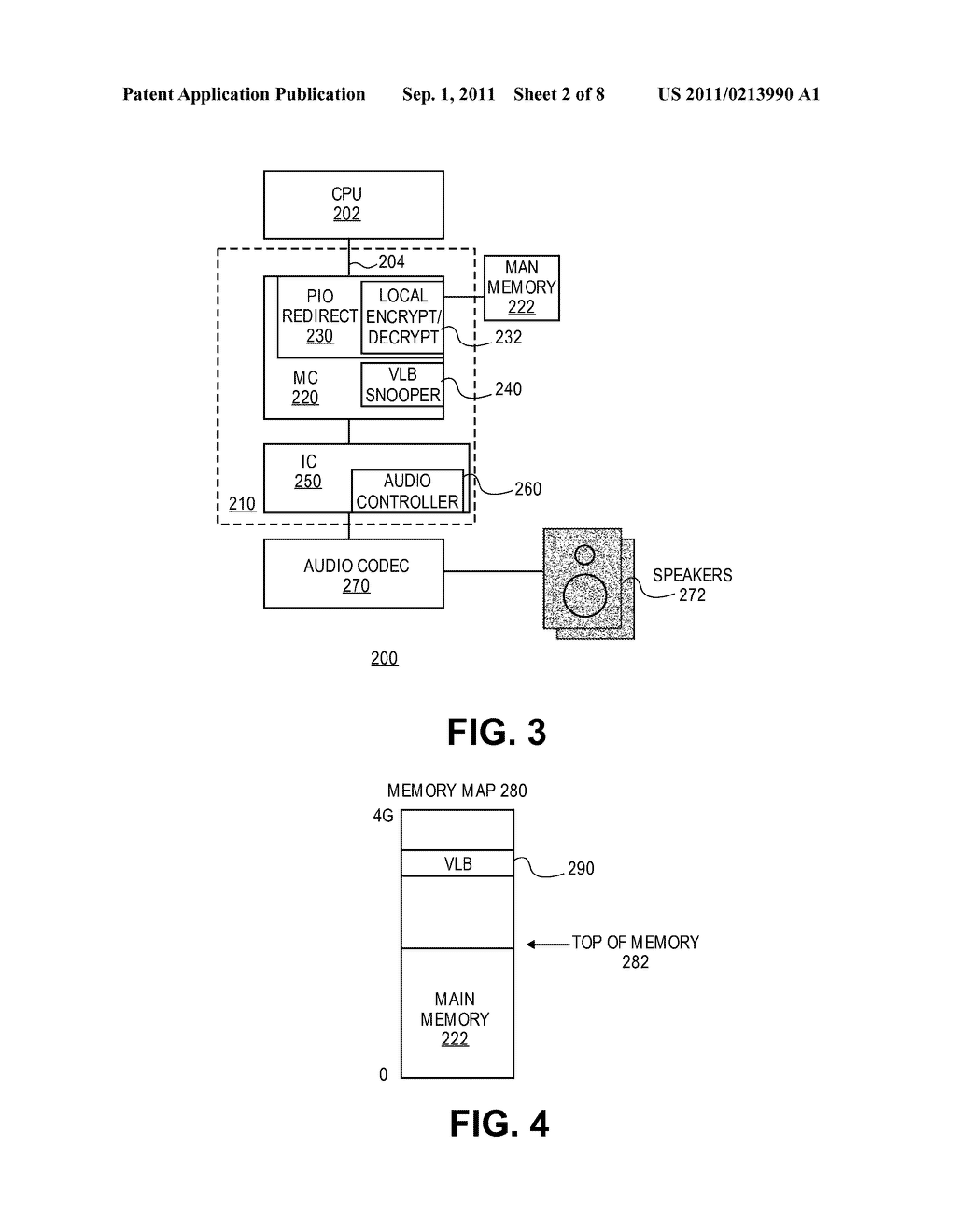 APPARATUS AND METHOD FOR CONTENT PROTECTION USING ONE-WAY BUFFERS - diagram, schematic, and image 03