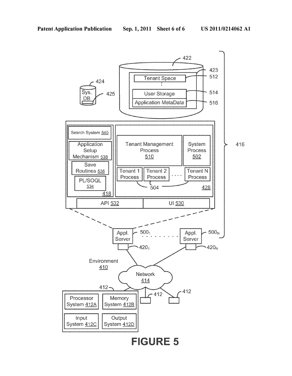 SYSTEM, METHOD AND COMPUTER PROGRAM PRODUCT FOR USER REGISTRATION WITH A     MULTI-TENANT ON-DEMAND DATABASE SYSTEM - diagram, schematic, and image 07