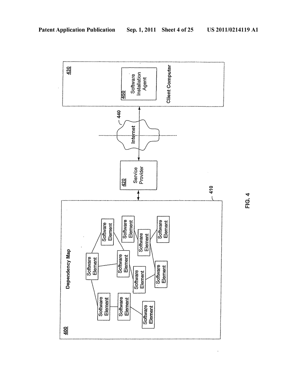 APPARATUS AND METHOD FOR PROVIDING SOFTWARE CONFIGURATIONS ON A PLURALITY     OF PLATFORMS - diagram, schematic, and image 05