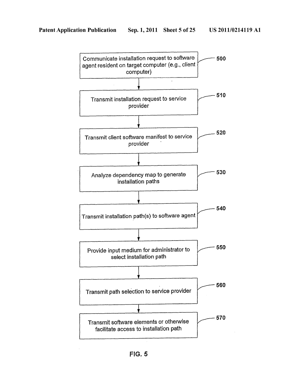 APPARATUS AND METHOD FOR PROVIDING SOFTWARE CONFIGURATIONS ON A PLURALITY     OF PLATFORMS - diagram, schematic, and image 06