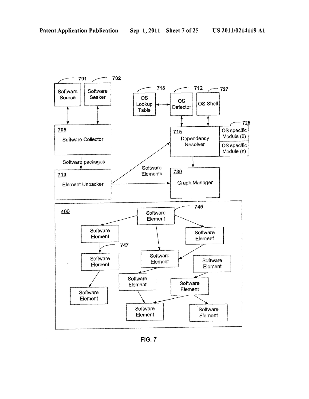 APPARATUS AND METHOD FOR PROVIDING SOFTWARE CONFIGURATIONS ON A PLURALITY     OF PLATFORMS - diagram, schematic, and image 08