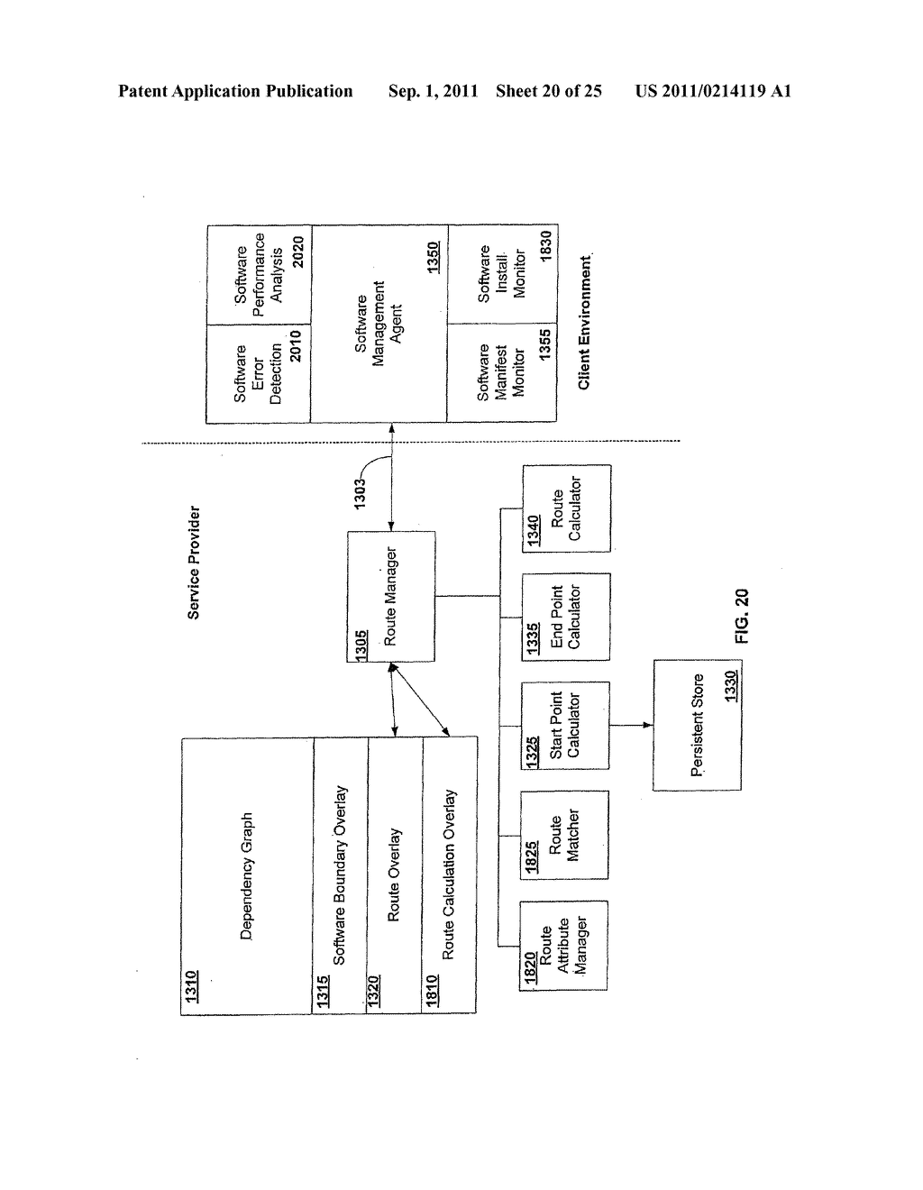 APPARATUS AND METHOD FOR PROVIDING SOFTWARE CONFIGURATIONS ON A PLURALITY     OF PLATFORMS - diagram, schematic, and image 21
