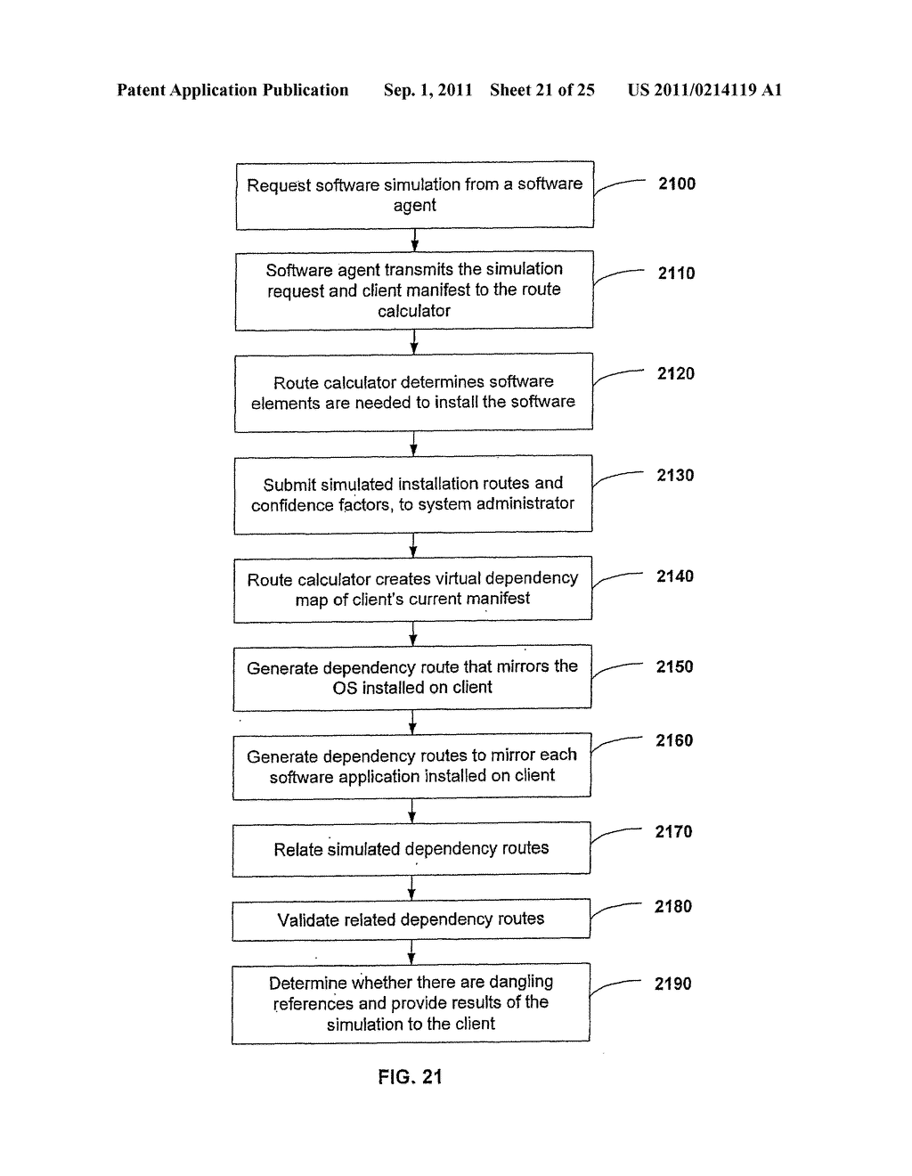 APPARATUS AND METHOD FOR PROVIDING SOFTWARE CONFIGURATIONS ON A PLURALITY     OF PLATFORMS - diagram, schematic, and image 22