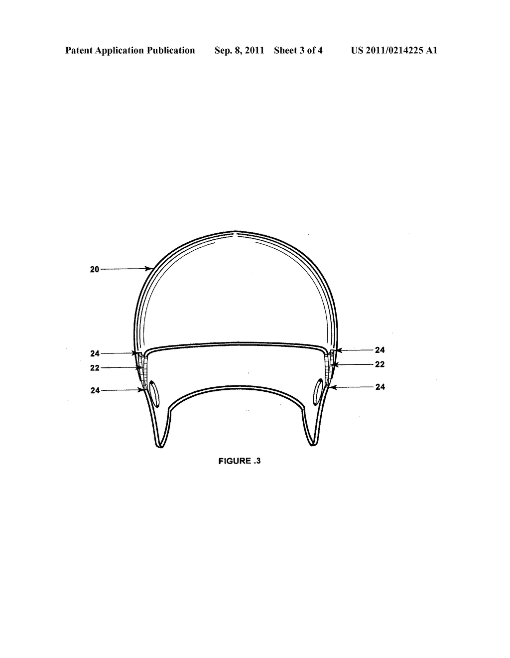 football helmet diagram