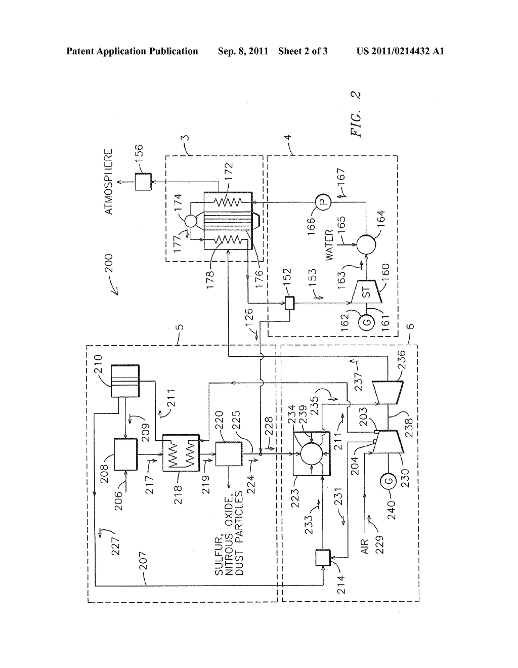 SYSTEM AND METHOD FOR GENERATION OF HIGH PRESSURE AIR IN AN INTEGRATED     GASIFICATION COMBINED CYCLE SYSTEM - diagram, schematic, and image 03