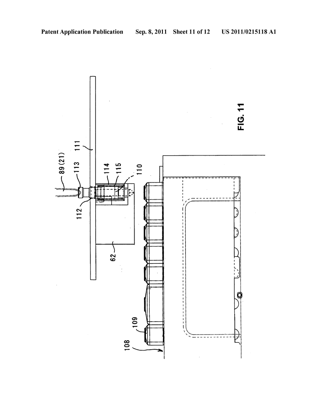 DISPENSING CYLINDER, LARGE CAPACITY DISPENSING DEVICE AND METHOD OF USING     LARGE CAPACITY DISPENSING DEVICE - diagram, schematic, and image 12