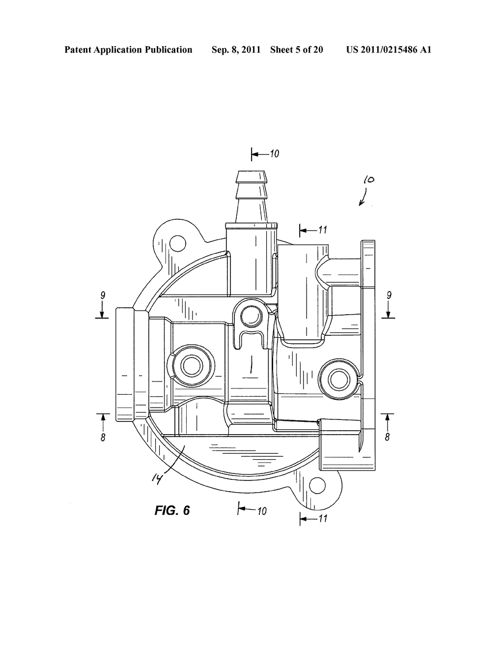 CARBURETOR INCLUDING ONE-PIECE FUEL-METERING INSERT - diagram, schematic, and image 06