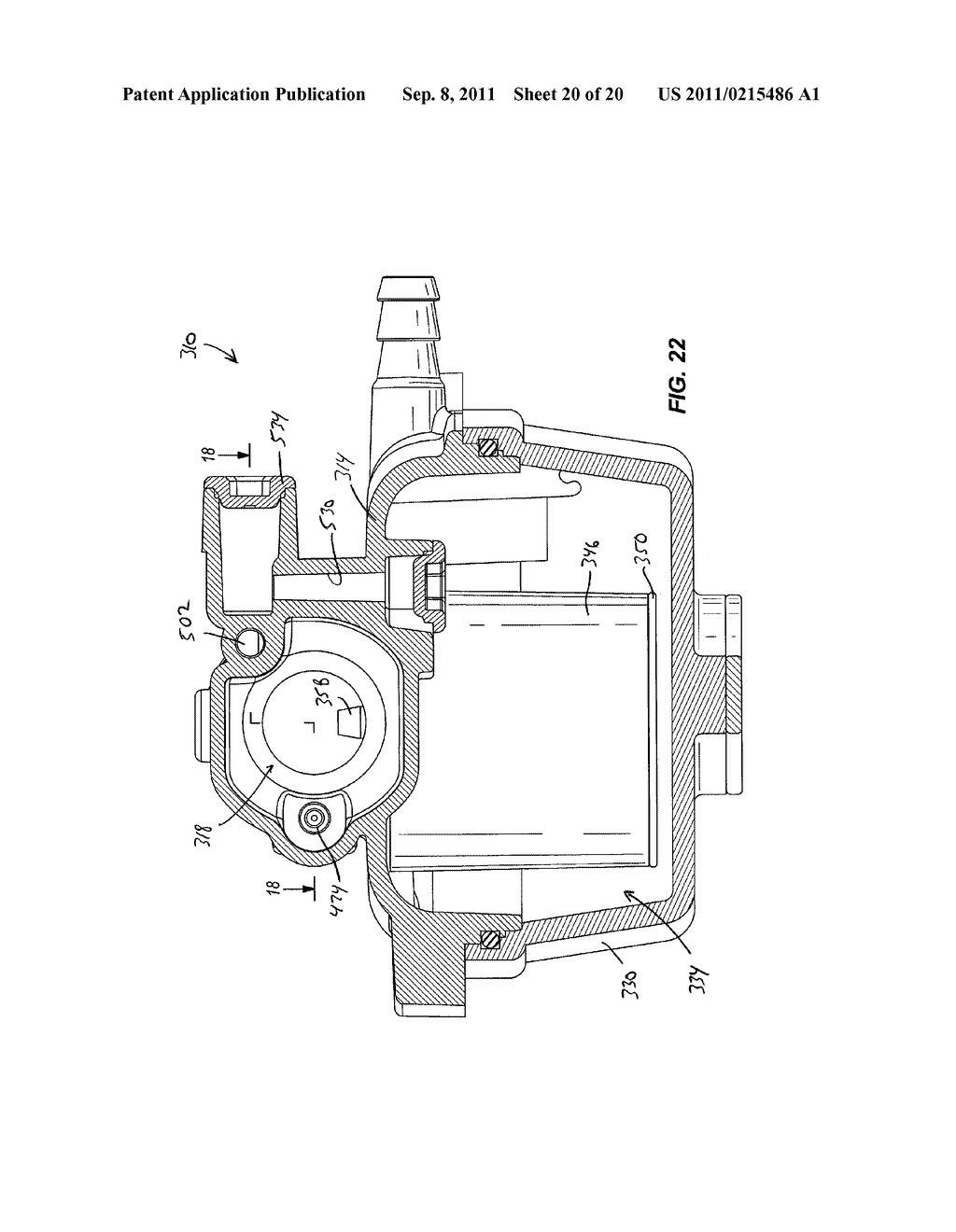 CARBURETOR INCLUDING ONE-PIECE FUEL-METERING INSERT - diagram, schematic, and image 21