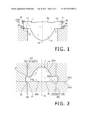 LENS FORMING METAL MOLD, LENS FORMING METHOD AND PICKUP DEVICE diagram and image
