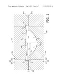LENS FORMING METAL MOLD, LENS FORMING METHOD, LENS, AND PICKUP DEVICE diagram and image