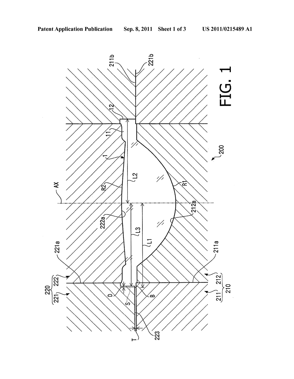 LENS FORMING METAL MOLD, LENS FORMING METHOD, LENS, AND PICKUP DEVICE - diagram, schematic, and image 02