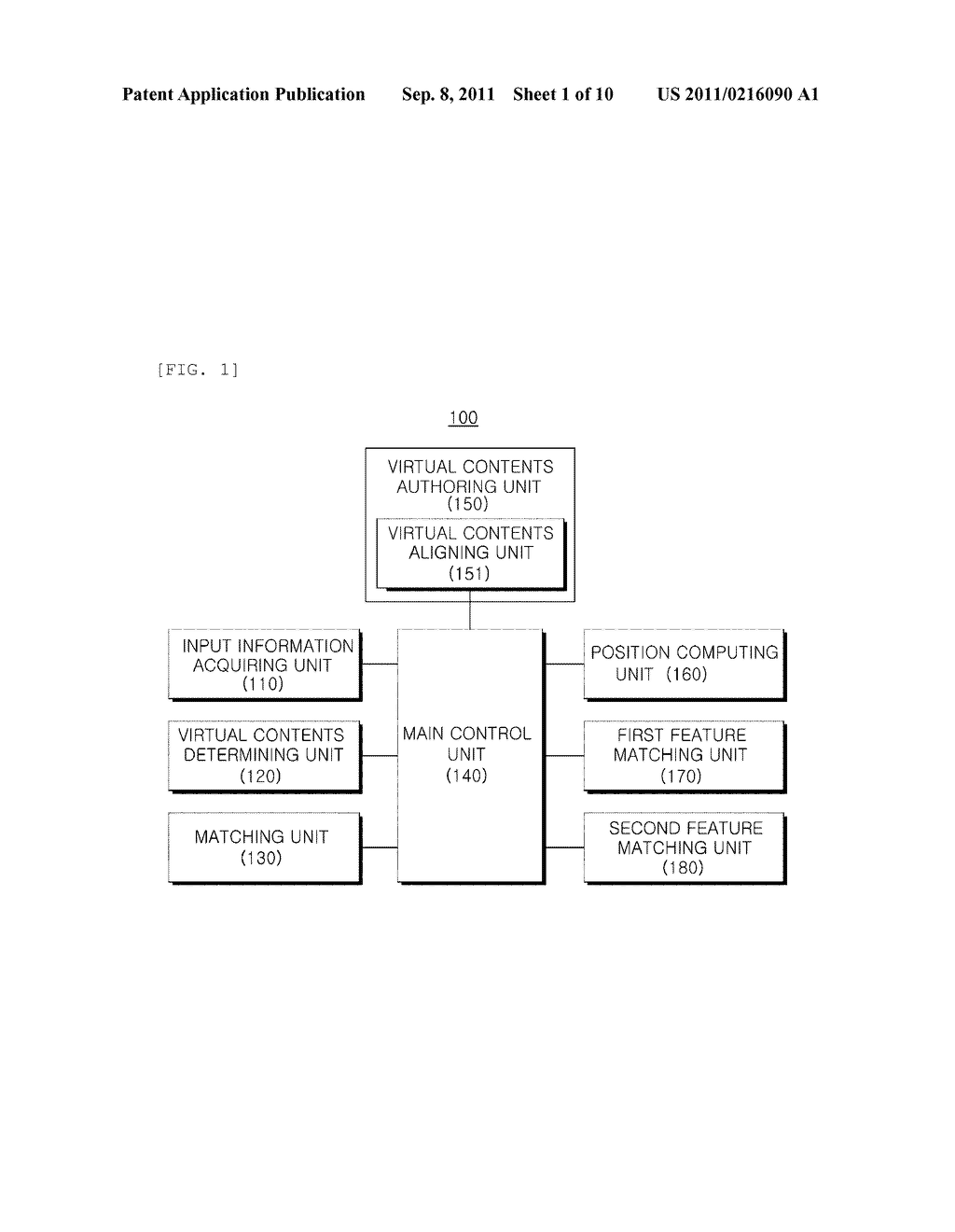 REAL-TIME INTERACTIVE AUGMENTED REALITY SYSTEM AND METHOD AND RECORDING     MEDIUM STORING PROGRAM FOR IMPLEMENTING THE METHOD - diagram, schematic, and image 02