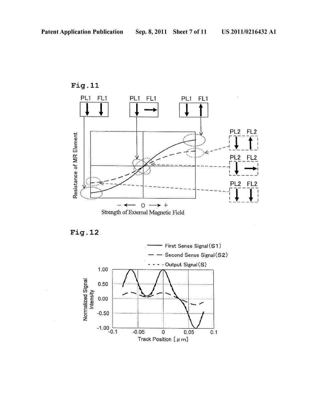 MAGNETIC HEAD COMPRISING TWO MAGNETIC FIELD SENSING PART - diagram, schematic, and image 08