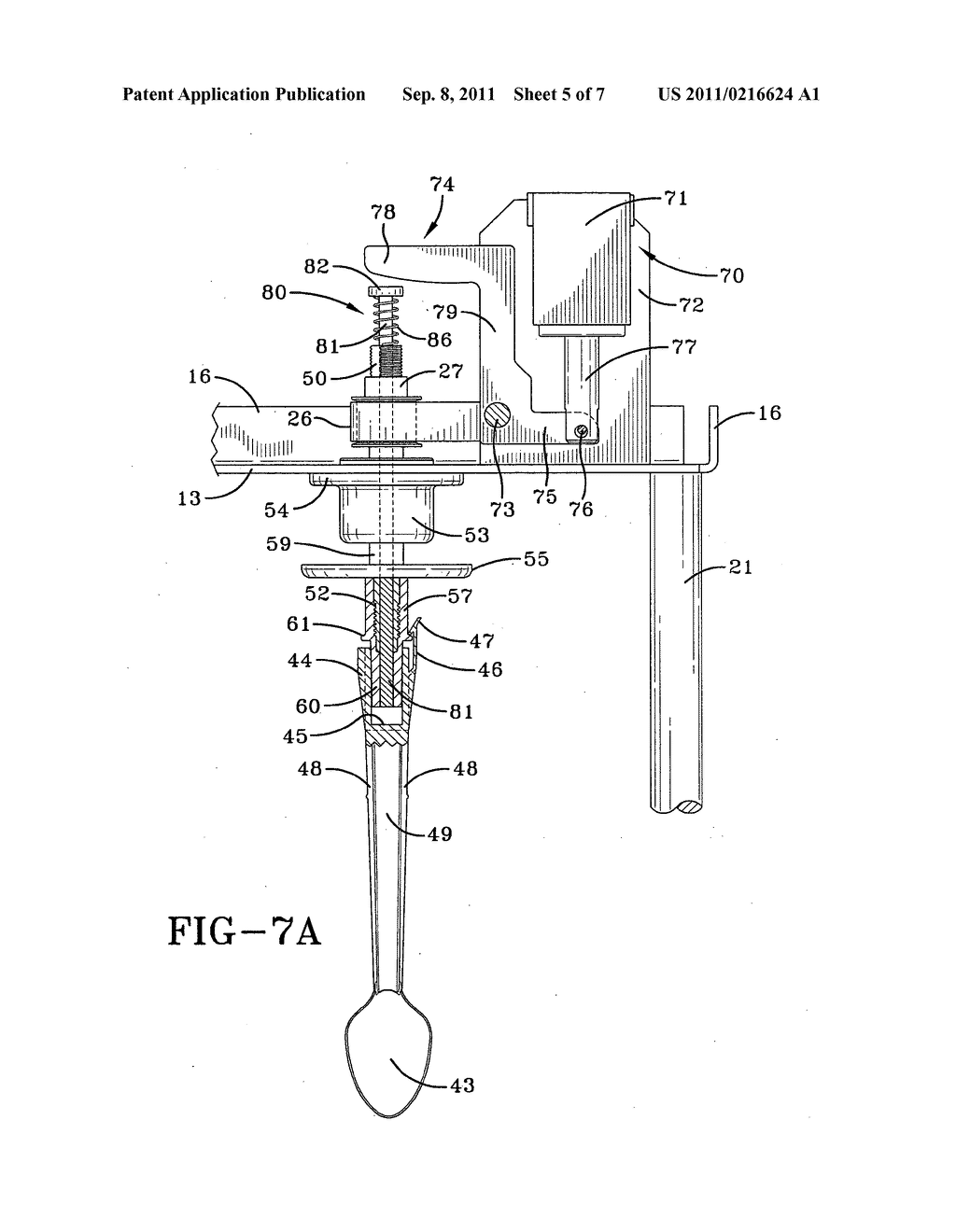 Food Mixer Diagram Wire Data Schema Wiring Agitator Release For A Schematic And Image 06 Rh Patentsencyclopedia Com Rubber