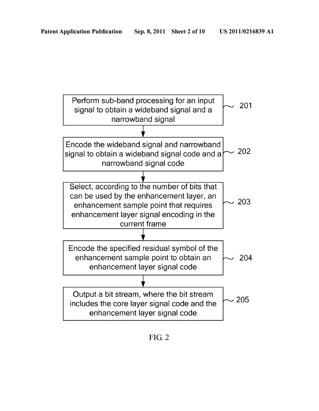 METHOD, DEVICE AND SYSTEM FOR SIGNAL ENCODING AND DECODING - diagram, schematic, and image 03