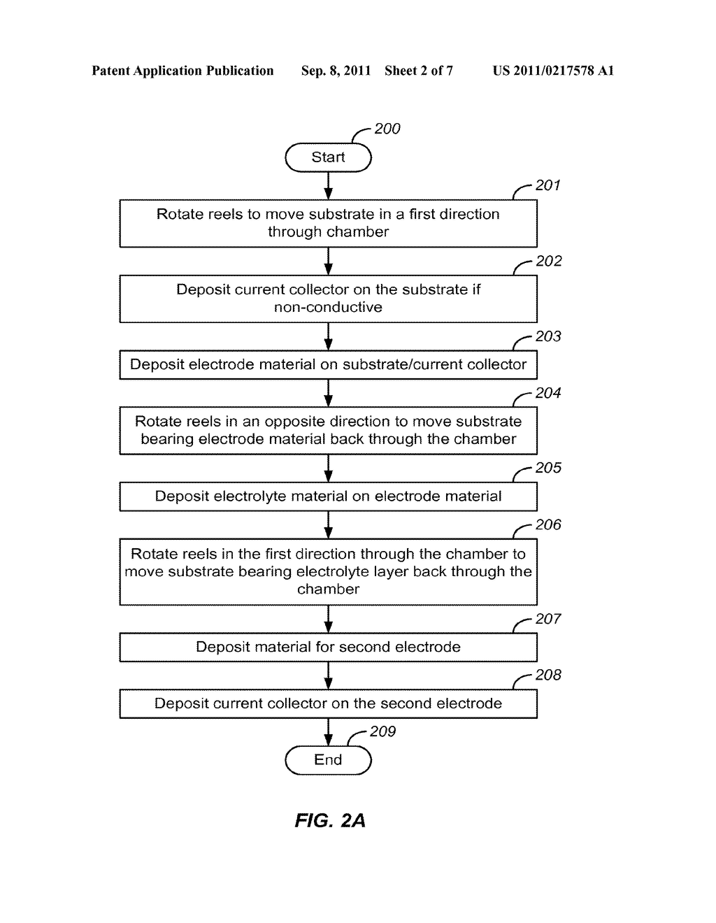 METHOD FOR HIGH VOLUME MANUFACTURE OF ELECTROCHEMICAL CELLS USING PHYSICAL     VAPOR DEPOSITION - diagram, schematic, and image 03
