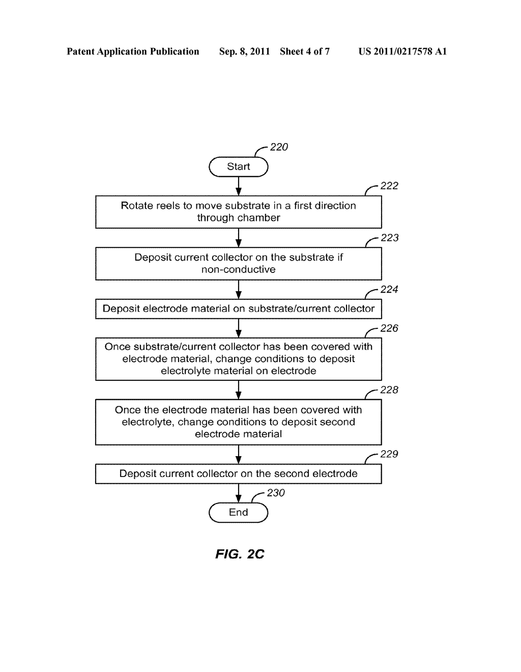 METHOD FOR HIGH VOLUME MANUFACTURE OF ELECTROCHEMICAL CELLS USING PHYSICAL     VAPOR DEPOSITION - diagram, schematic, and image 05