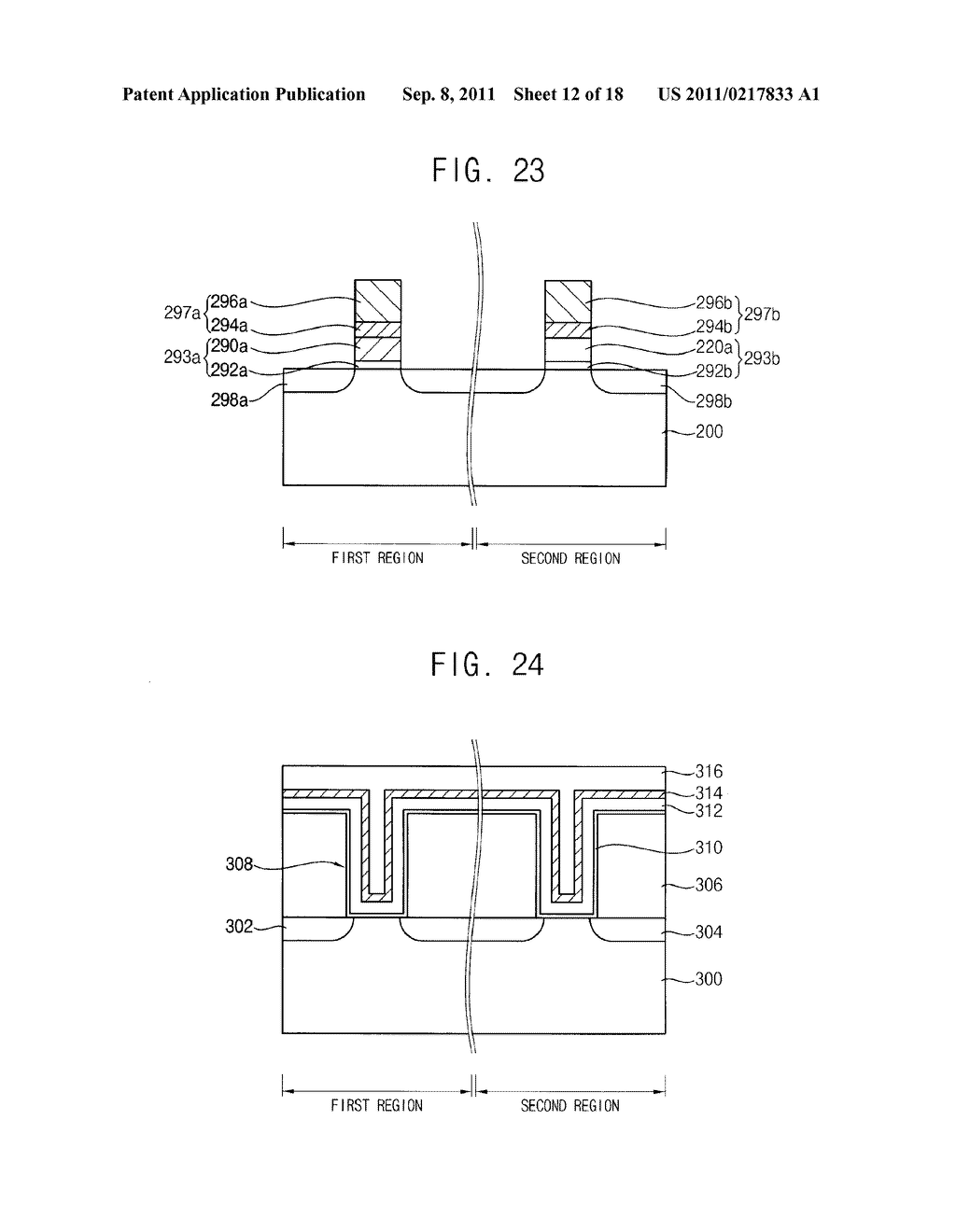 METHOD OF MANUFACTURING A SEMICONDUCTOR DEVICE USING AN ETCHANT - diagram, schematic, and image 13