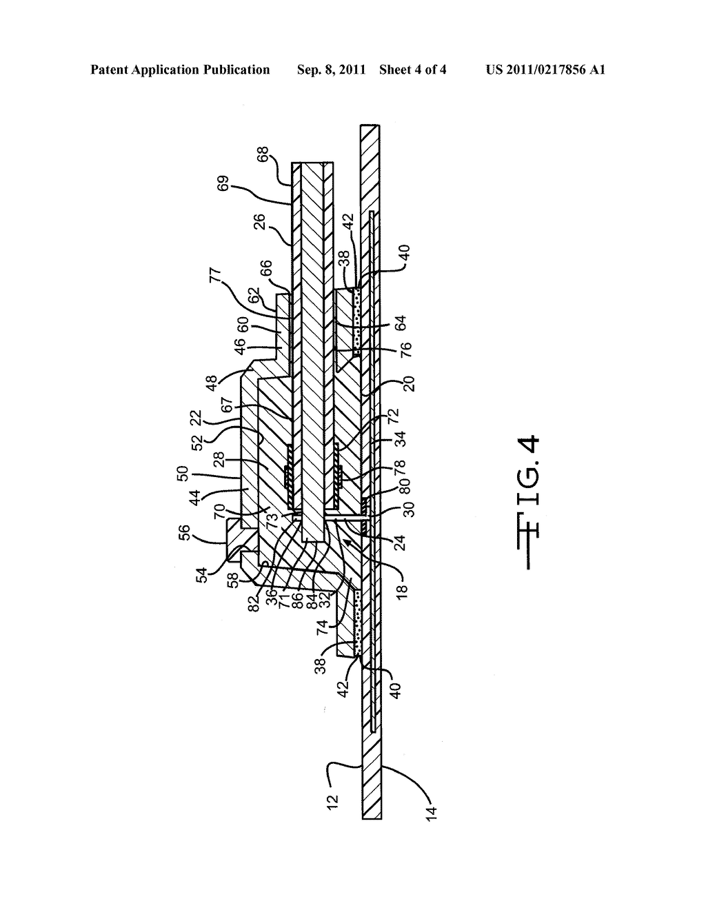 TERMINAL ASSEMBLY INCLUDING A JUNCTION BOX FOR A PHOTOVOLTAIC MODULE AND     METHOD OF FORMING - diagram, schematic, and image 05