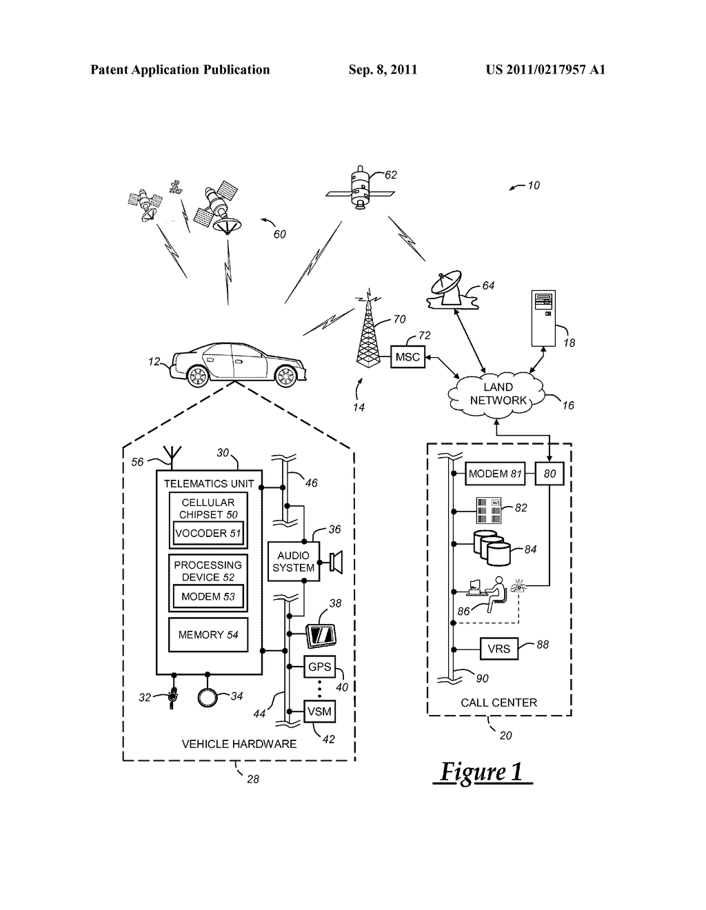 Modem Signaling Using Speech Components Over A Voice Channel Of Wireless Diagram Communication System Schematic And Image 02
