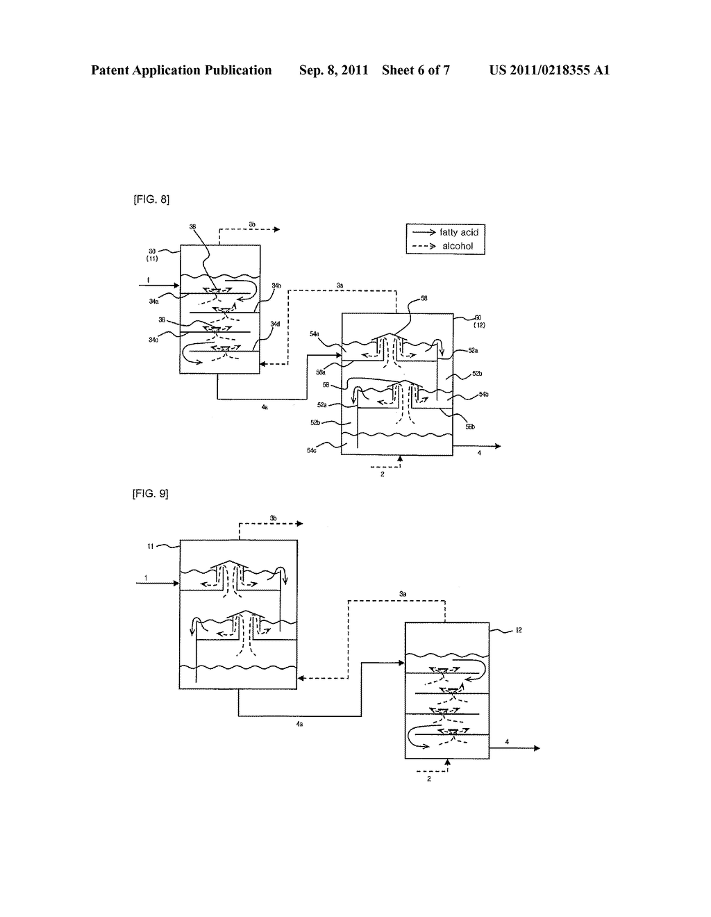 METHOD AND APPARATUS FOR PREPARING ALKYL ESTER FATTY ACID USING FATTY ACID - diagram, schematic, and image 07