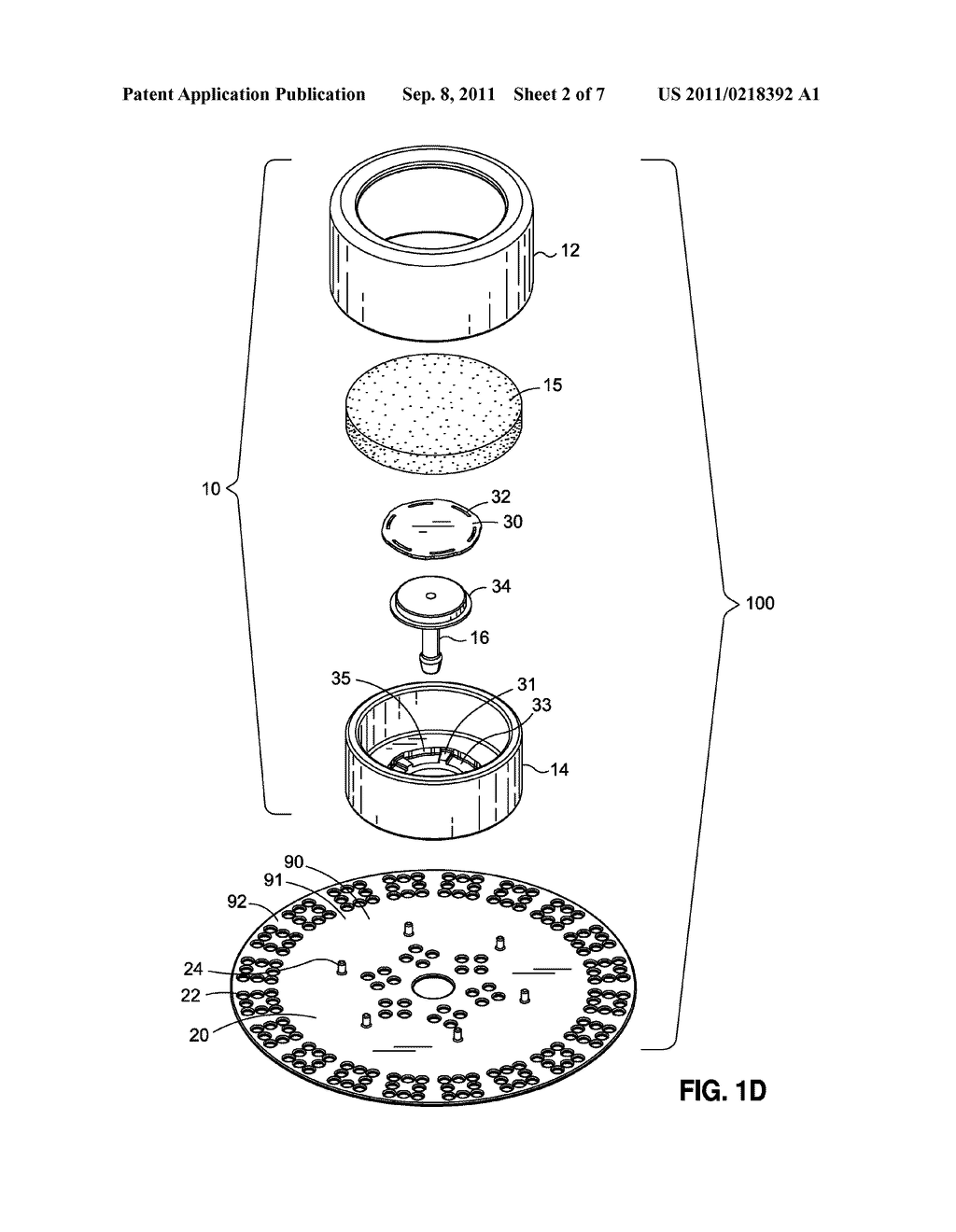 IMPLANTABLE BOTTOM EXIT PORT - diagram, schematic, and image 03