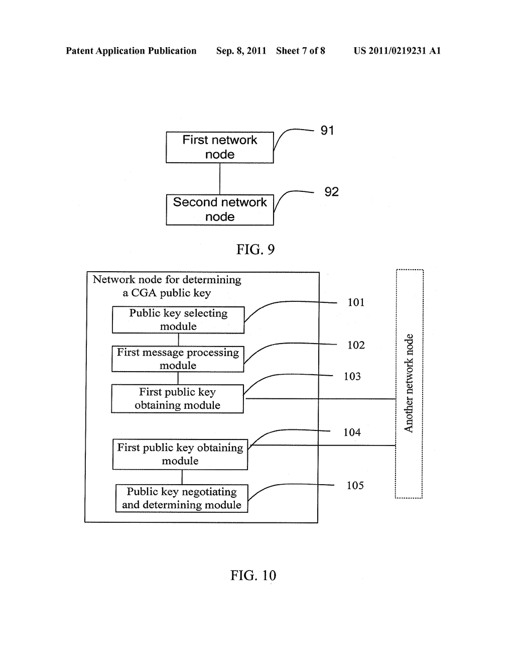 METHOD AND APPARATUS FOR IDENTIFYING CGA PUBLIC KEY, AND METHOD,     APPARATUS, AND SYSTEM FOR DETERMINING CGA PUBLIC KEY - diagram, schematic, and image 08