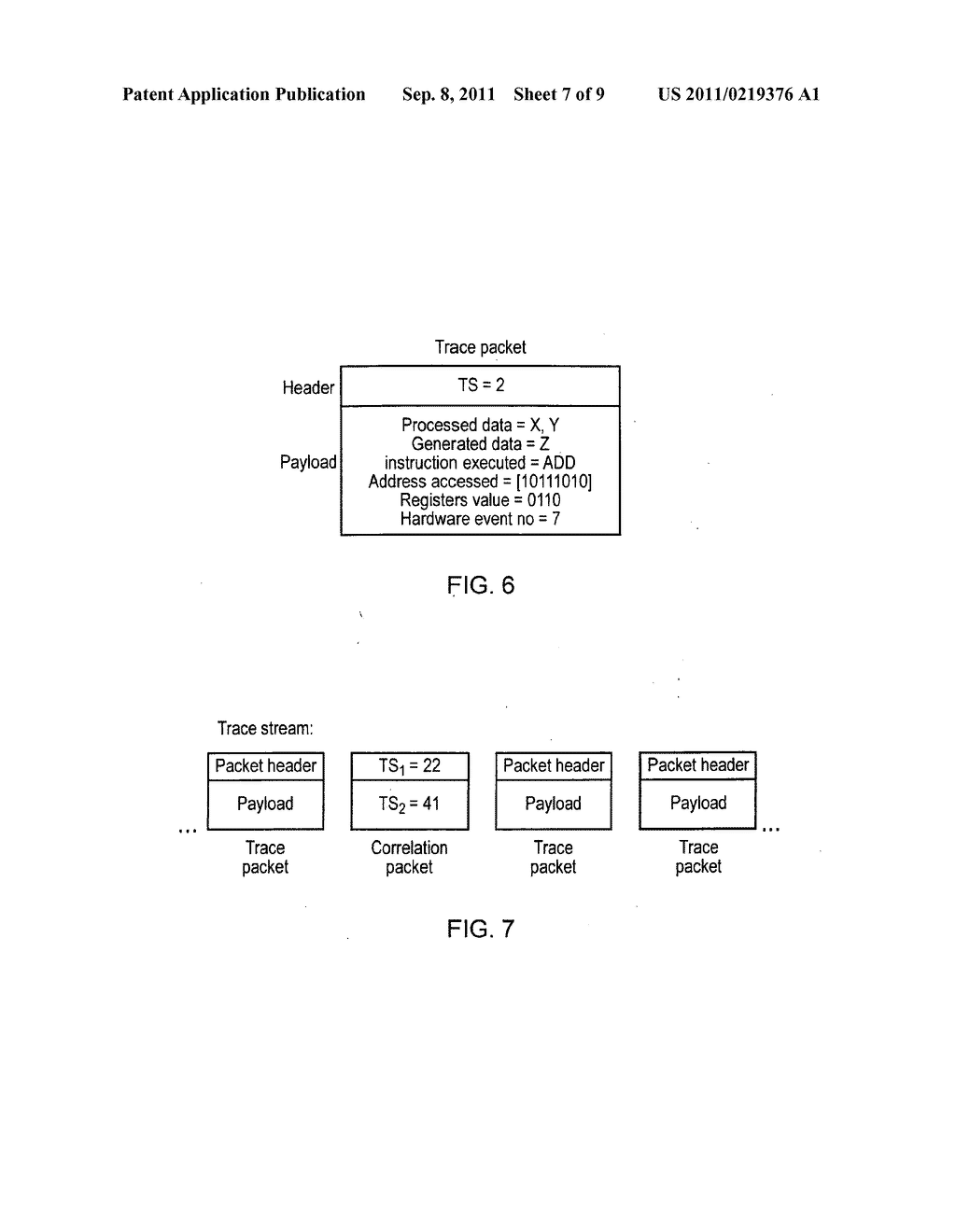 Method, apparatus and trace module for generating timestamps - diagram, schematic, and image 08