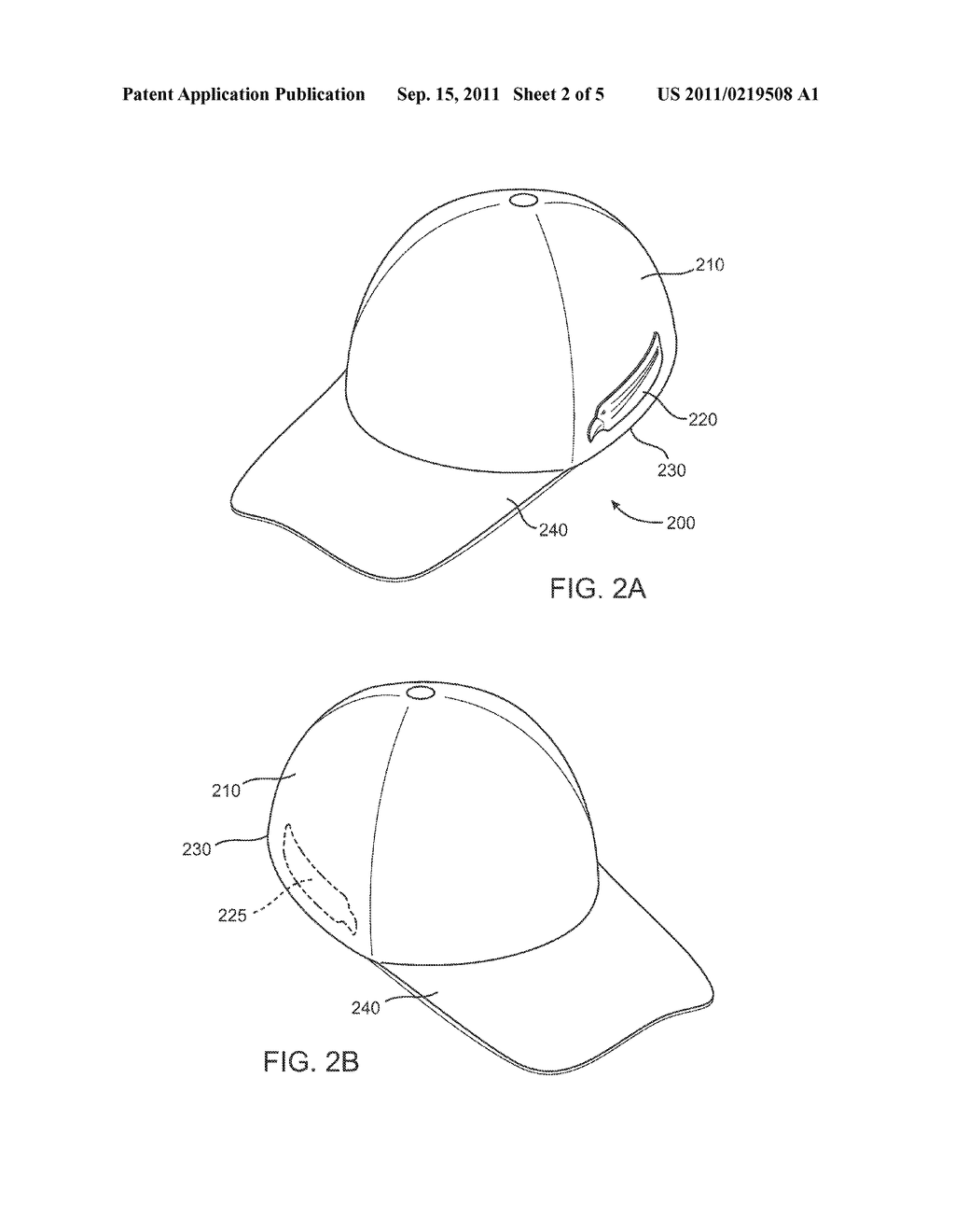 Adhesive Patch for Securing Eyewear to Headwear - diagram, schematic, and image 03