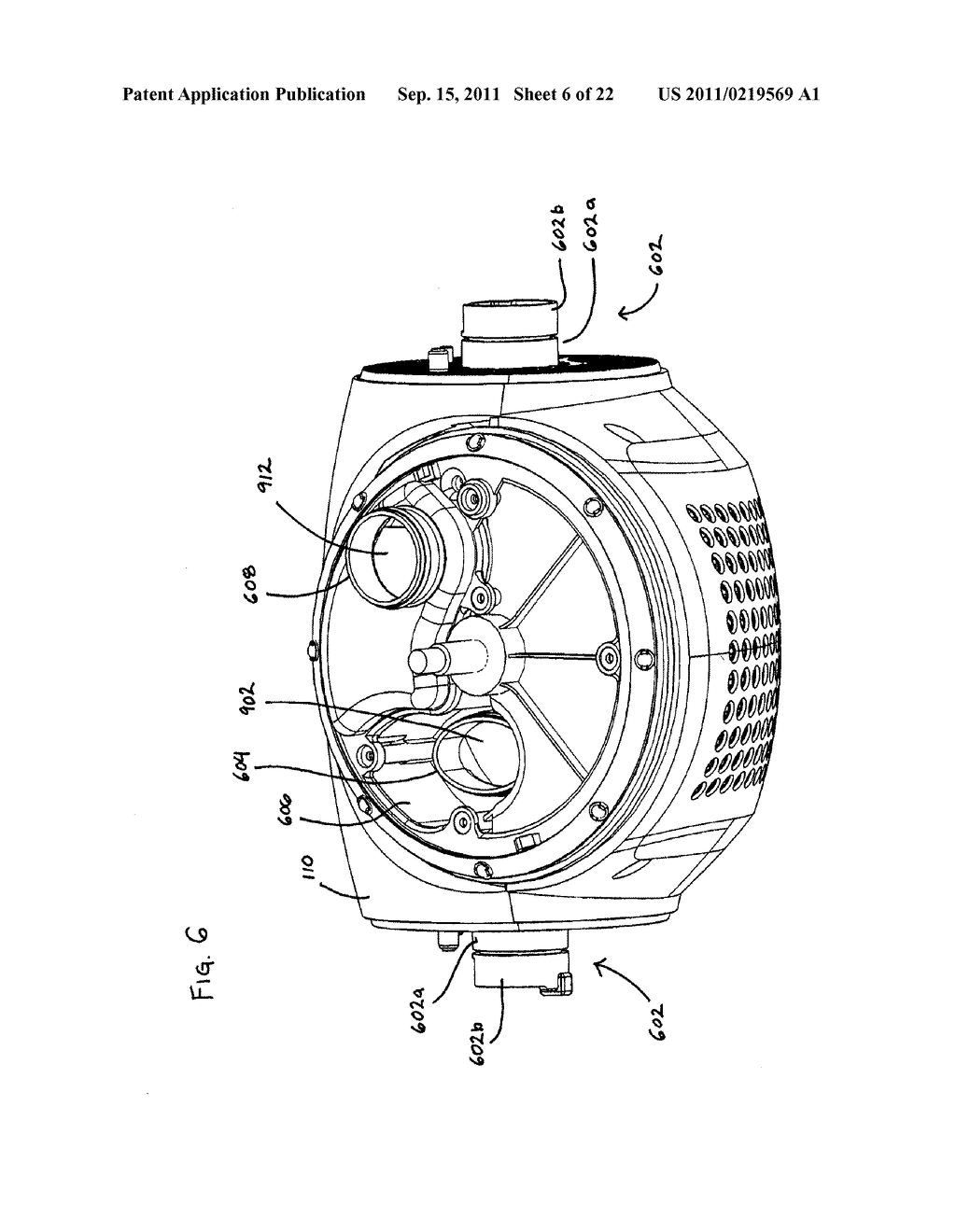 Vacuum Cleaner with Movable Wheel - diagram, schematic, and image 07
