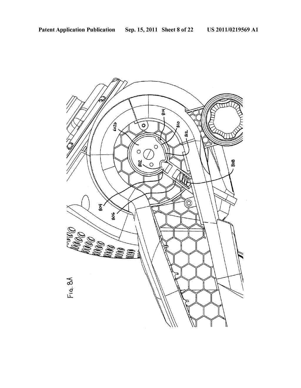Vacuum Cleaner with Movable Wheel - diagram, schematic, and image 09