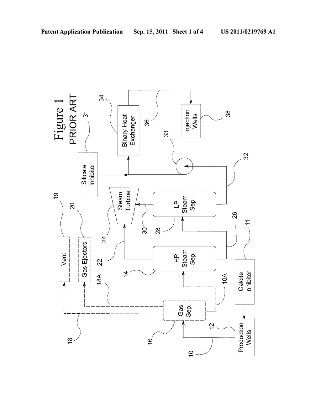 Return Carbon Dioxide To Flashed Geothermal Brine Control Scale Power Plant Diagram Deposition In A Schematic And Image 02