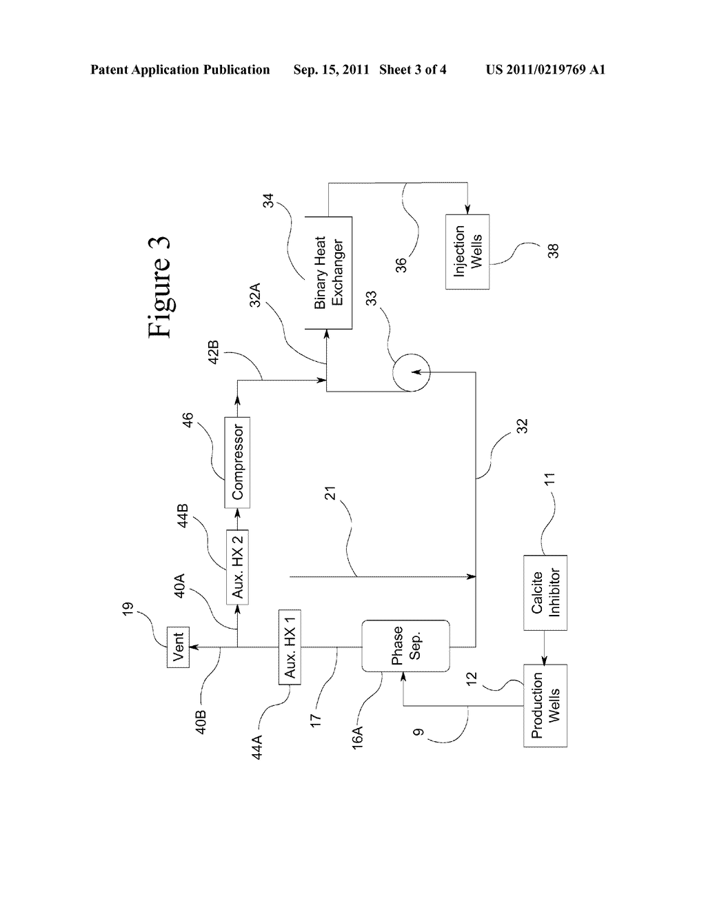 Return Carbon Dioxide To Flashed Geothermal Brine Control Scale Power Plant Schematic Diagram Deposition In A And Image 04