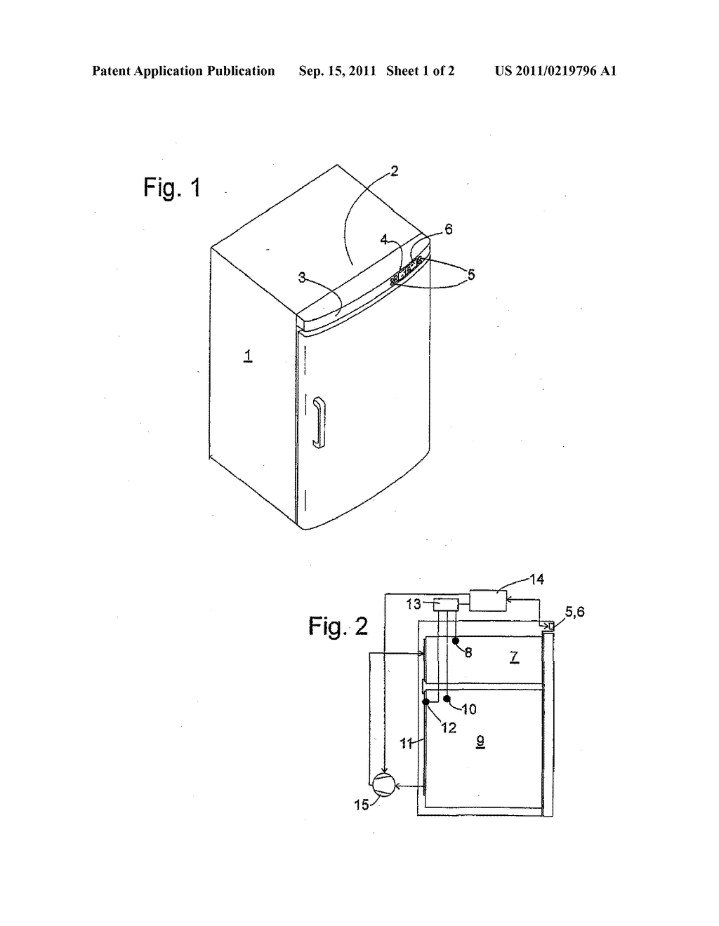 REFRIGERATING APPLIANCE - diagram, schematic, and image 02