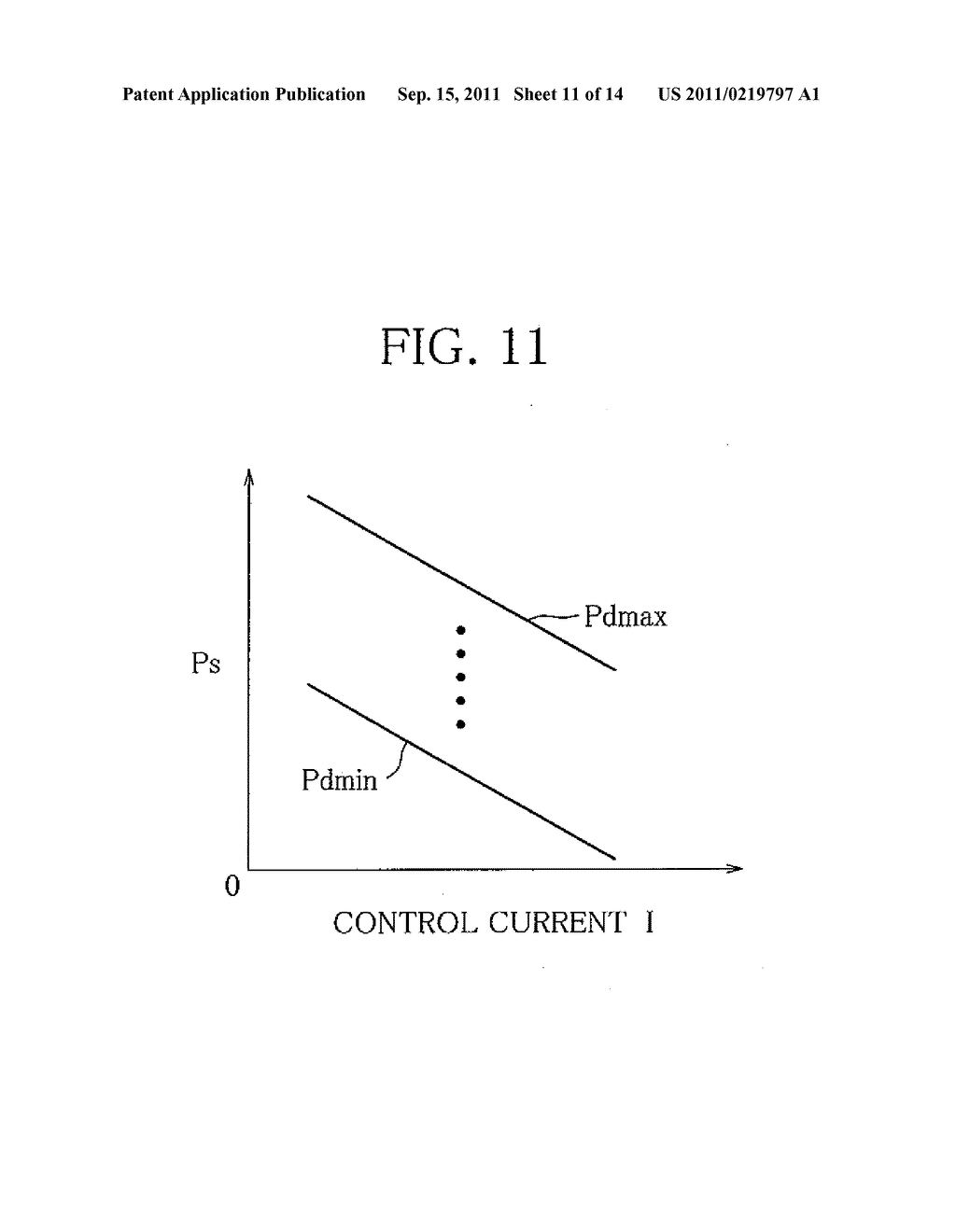 Capacity Control System for Variable Capacity Compressor and Display     Device for the System - diagram, schematic, and image 12