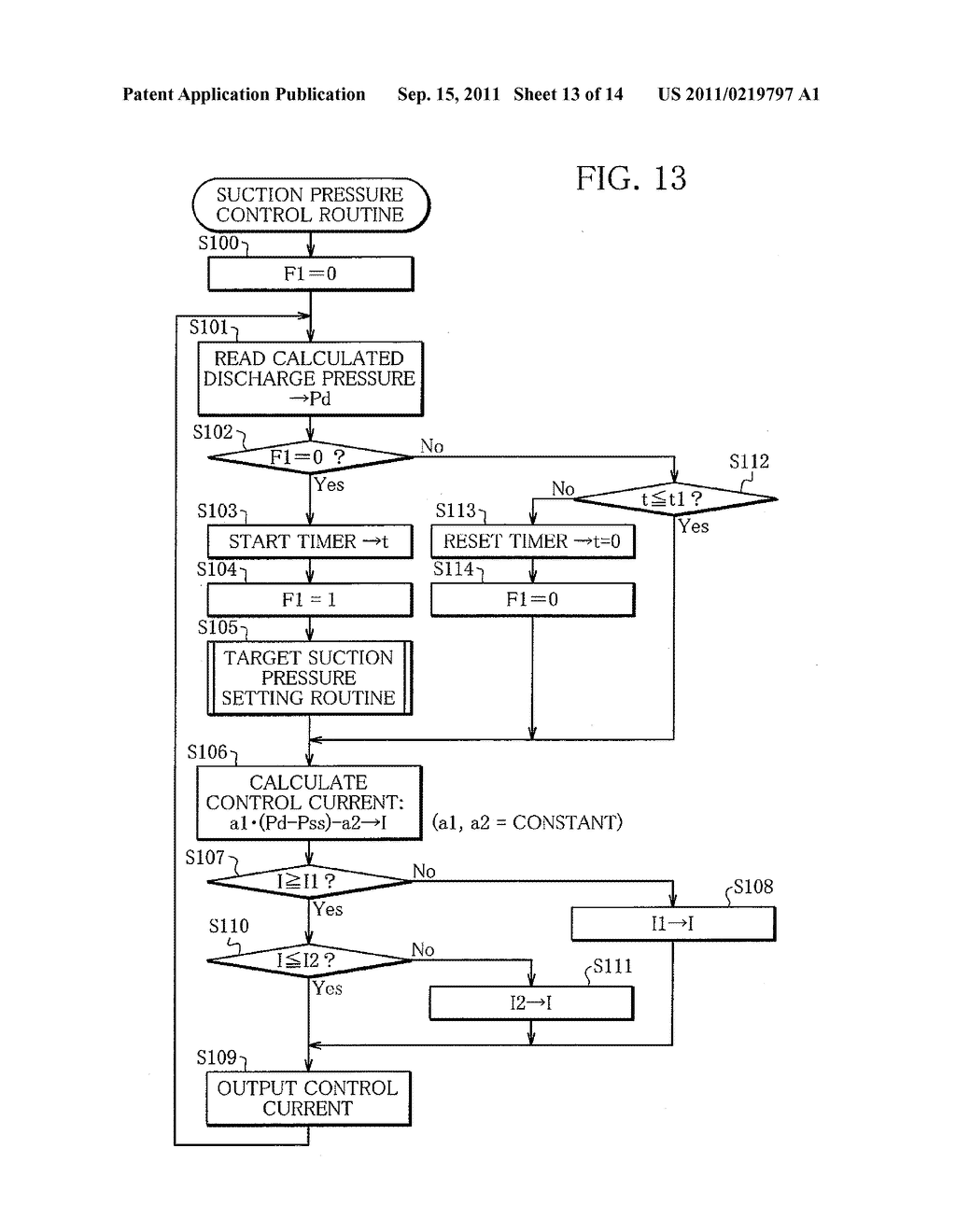 Capacity Control System for Variable Capacity Compressor and Display     Device for the System - diagram, schematic, and image 14
