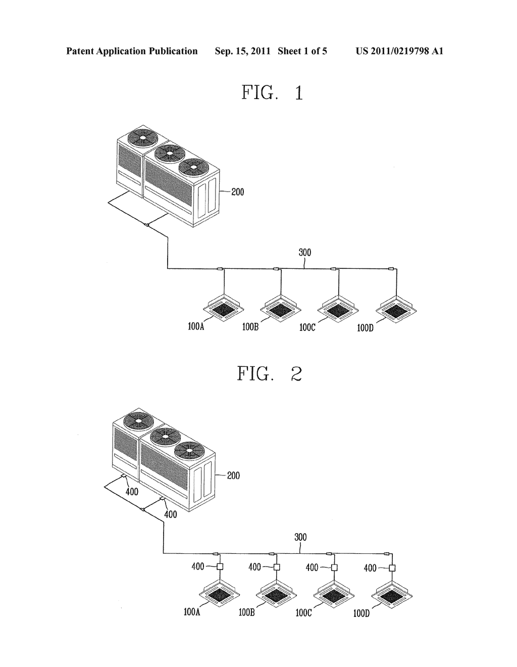 Communication Apparatus, Air Conditioning System Having The Same And     Communication Method Thereof Using Refrigerant Pipes - diagram, schematic, and image 02