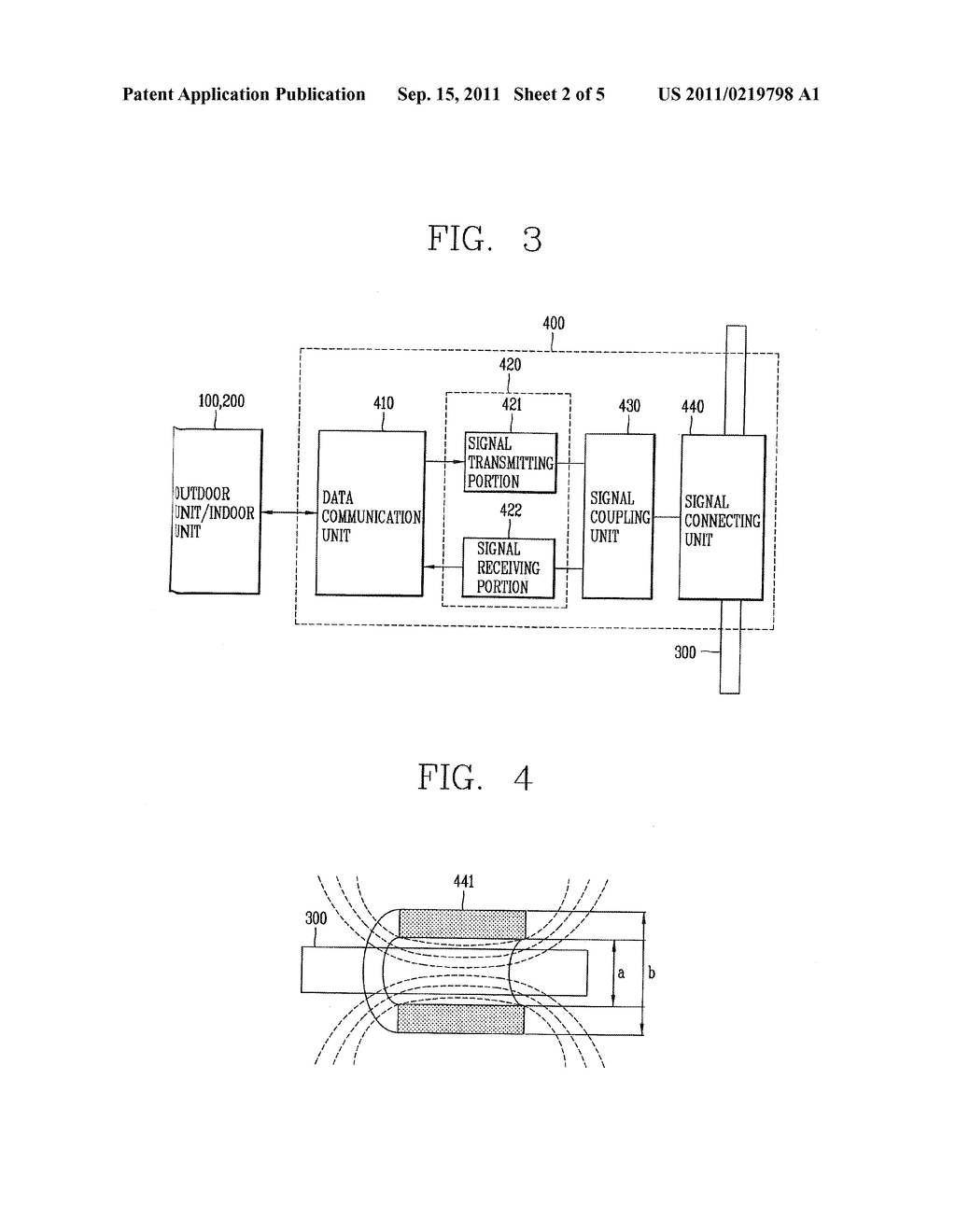 Communication Apparatus, Air Conditioning System Having The Same And     Communication Method Thereof Using Refrigerant Pipes - diagram, schematic, and image 03