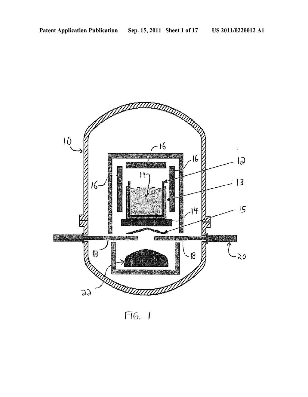 CRYSTAL GROWTH APPARATUS WITH LOAD-CENTERED APERTURE, AND DEVICE AND     METHOD FOR CONTROLLING HEAT EXTRACTION FROM A CRUCIBLE - diagram, schematic, and image 02