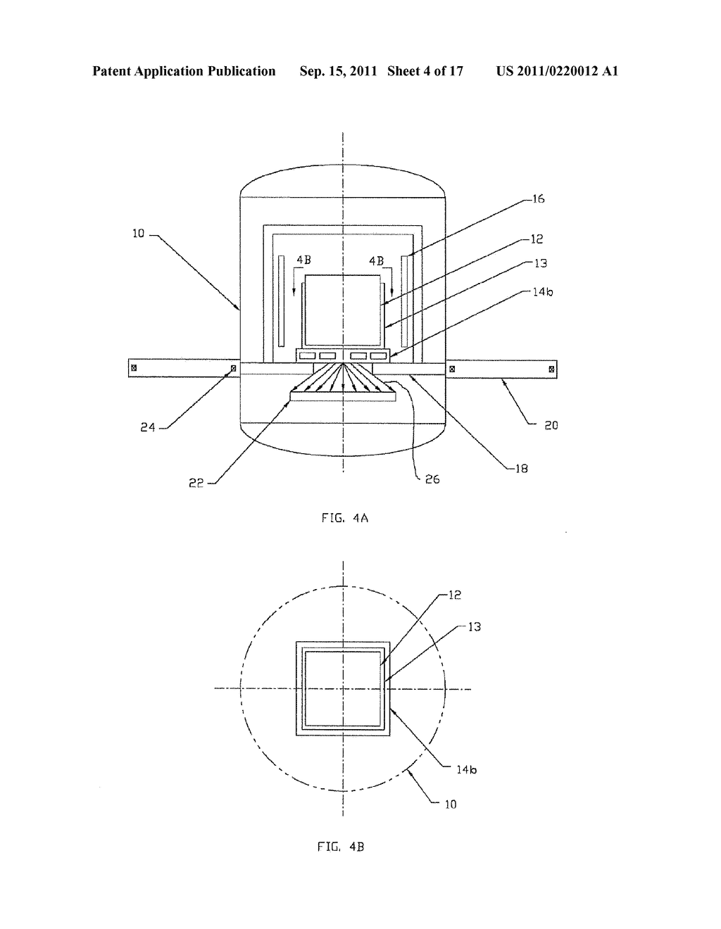 CRYSTAL GROWTH APPARATUS WITH LOAD-CENTERED APERTURE, AND DEVICE AND     METHOD FOR CONTROLLING HEAT EXTRACTION FROM A CRUCIBLE - diagram, schematic, and image 05