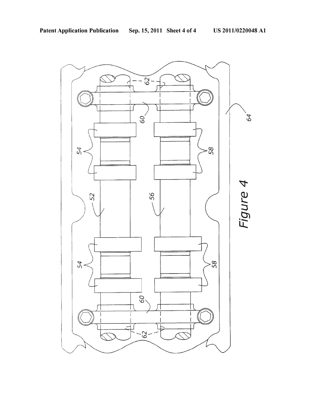 Valve Operating Camshaft System For Internal Combustion Engine - diagram, schematic, and image 05