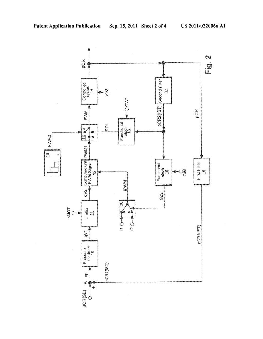 CONTROL AND REGULATION METHOD FOR AN INTERNAL COMBUSTION ENGINE HAVING A     COMMON RAIL SYSTEM - diagram, schematic, and image 03