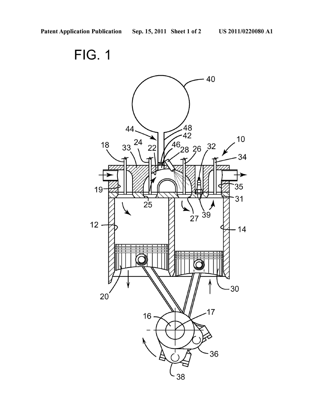 SPLIT-CYCLE AIR-HYBRID ENGINE WITH AIR TANK VALVE - diagram, schematic, and  image 02