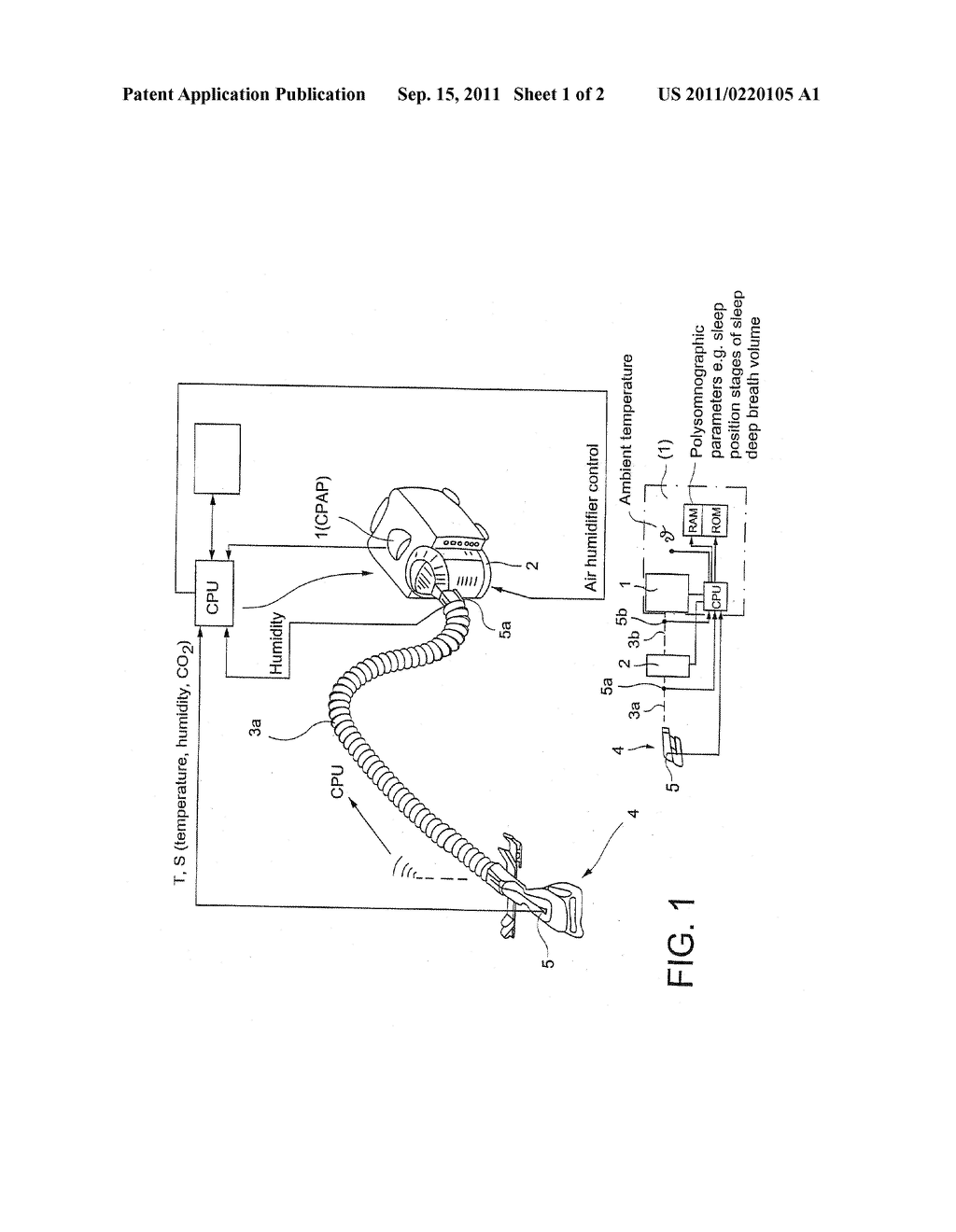 APPARATUS FOR SUPPLYING RESPIRATORY GAS AND A METHOD FOR CONTROLLING THE     APPARATUS - diagram, schematic, and image 02
