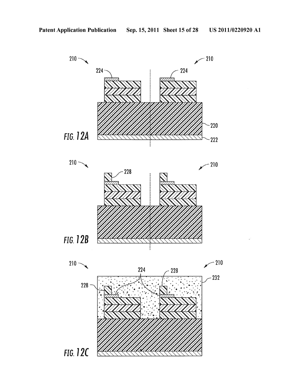 METHODS OF FORMING WARM WHITE LIGHT EMITTING DEVICES HAVING HIGH COLOR     RENDERING INDEX VALUES AND RELATED LIGHT EMITTING DEVICES - diagram, schematic, and image 16