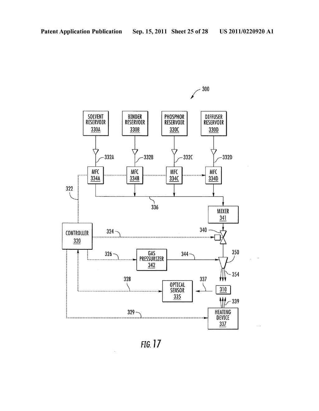 METHODS OF FORMING WARM WHITE LIGHT EMITTING DEVICES HAVING HIGH COLOR     RENDERING INDEX VALUES AND RELATED LIGHT EMITTING DEVICES - diagram, schematic, and image 26