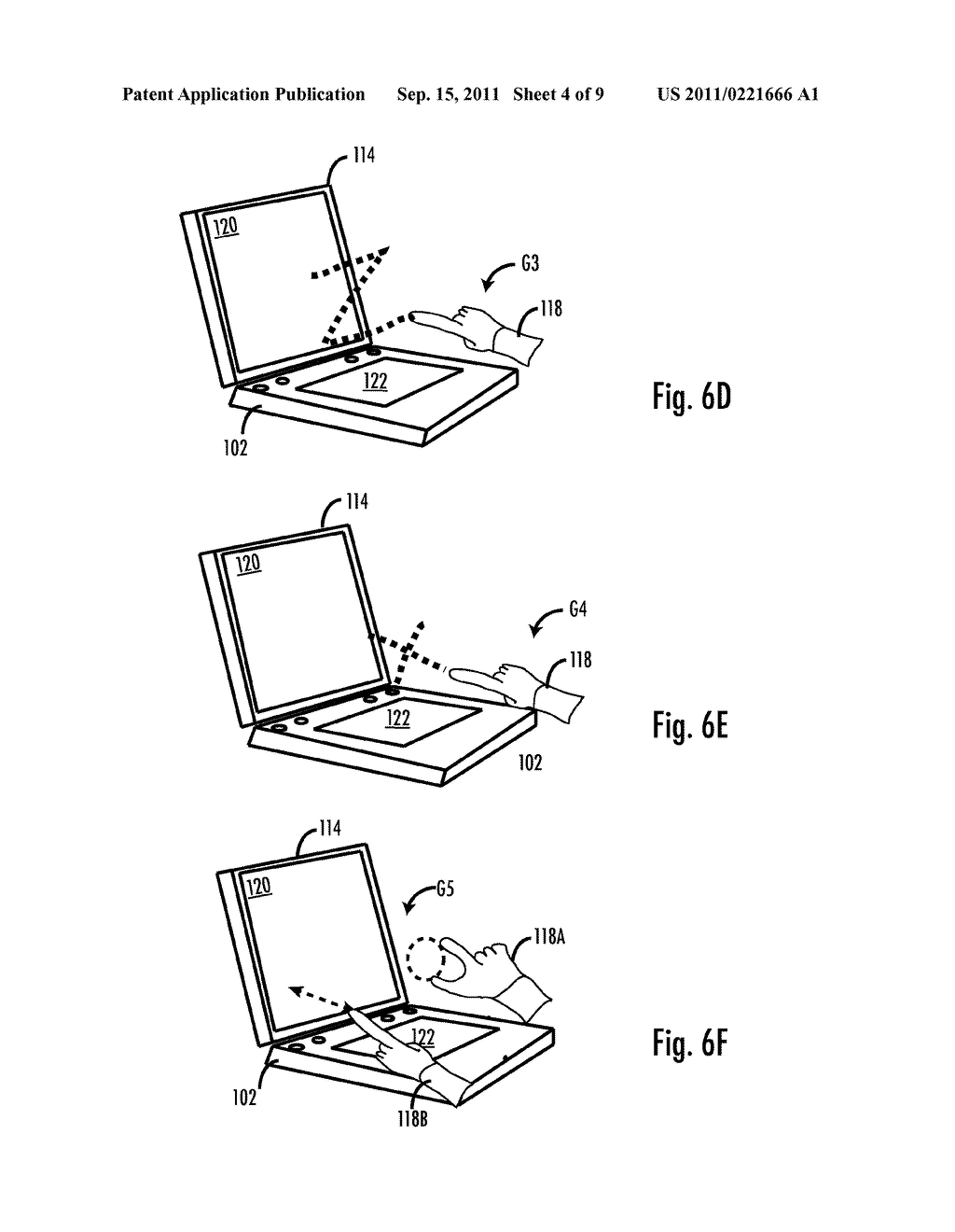 Methods and Apparatus For Gesture Recognition Mode Control - diagram, schematic, and image 05